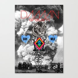 DAMN SYSTEM Canvas Print