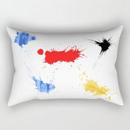 watercolors Rectangular Pillow