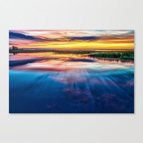 Enchanted Lake Canvas Print