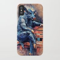 taurus iPhone & iPod Cases featuring Taurus by jbjart