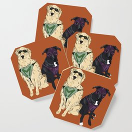 Super Doggos Coaster Coaster