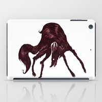 the hound iPad Cases featuring Happy Hound  by exeivier