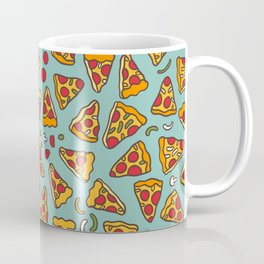 Funny pizza pattern Coffee Mug