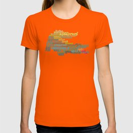 Crocodile in Different Languages T-shirt