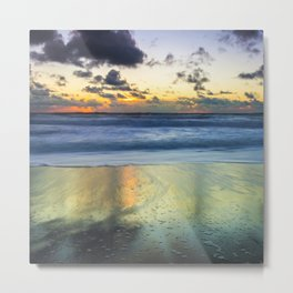 Sea storm approaches Metal Print