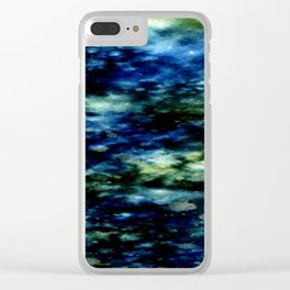 Twilight Cenote Two Clear iPhone Case