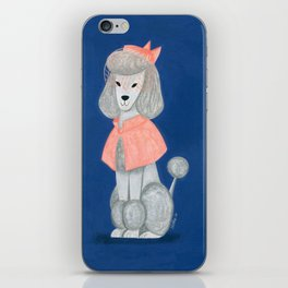 Priscilla the Poodle iPhone Skin