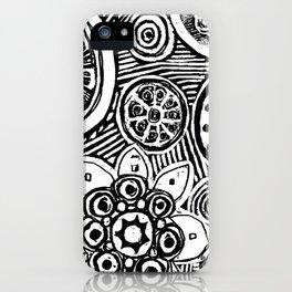 STEP INTO MY GARDEN iPhone Case