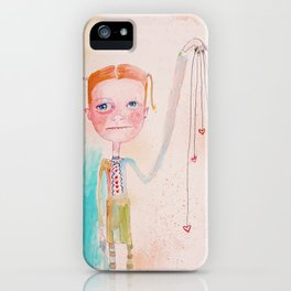 The Awkward Valentine iPhone Case