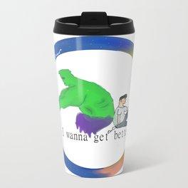 A better tomorrow  Travel Mug