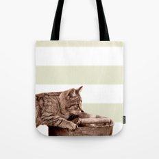 Cat Play Tote Bag