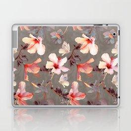 Coral Hibiscus Laptop & iPad Skin