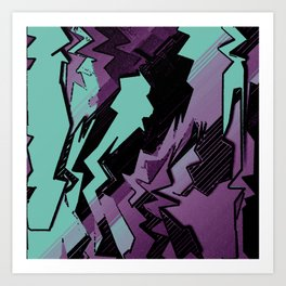 Action Packed Art Print