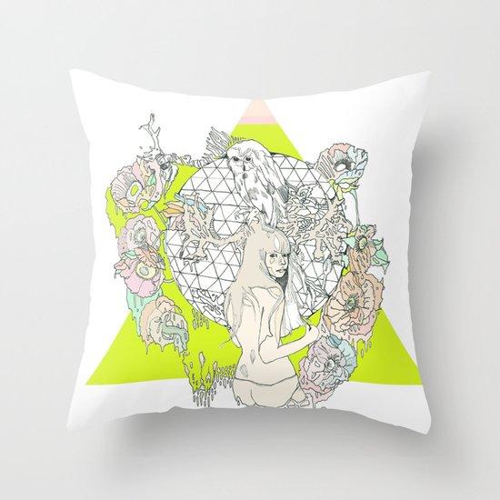 für owl  Throw Pillow