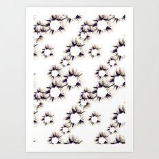 Lace Flower Art Print