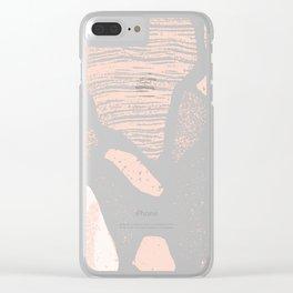 Etta Print Clear iPhone Case