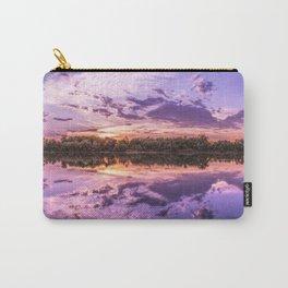 Purple Sunset Landscape Carry-All Pouch