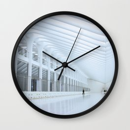 Lone Man Tunnel Wall Clock