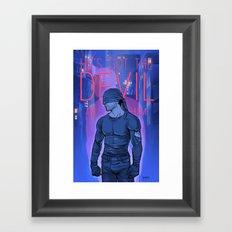 Got the Devil in Him Framed Art Print