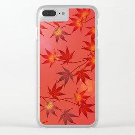 Momiji Clear iPhone Case