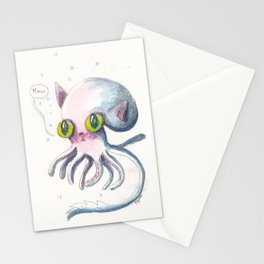 Squid Boo Stationery Cards