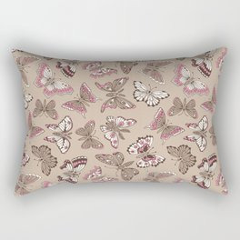 Butterflies pattern Rectangular Pillow