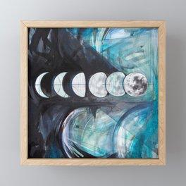 Waxing Framed Mini Art Print