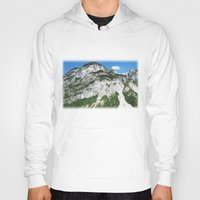 italian Hoodies featuring Italian alps by Carlo Toffolo