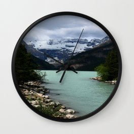 Lake Louise Impression Wall Clock