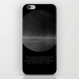 The Mist iPhone Skin