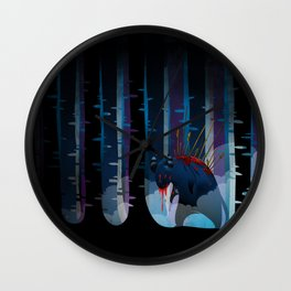 The monster Wall Clock