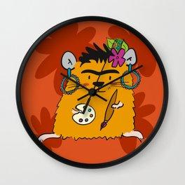 Hamster Frida Wall Clock