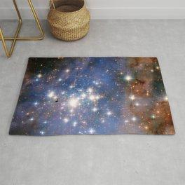 Star cluster Trumpler 14 in the Milky Way (NASA/ESA Hubble Space Telescope) Rug