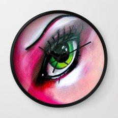 A Warm Woman Wall Clock