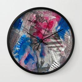 Vesalius Memento Mori Wall Clock