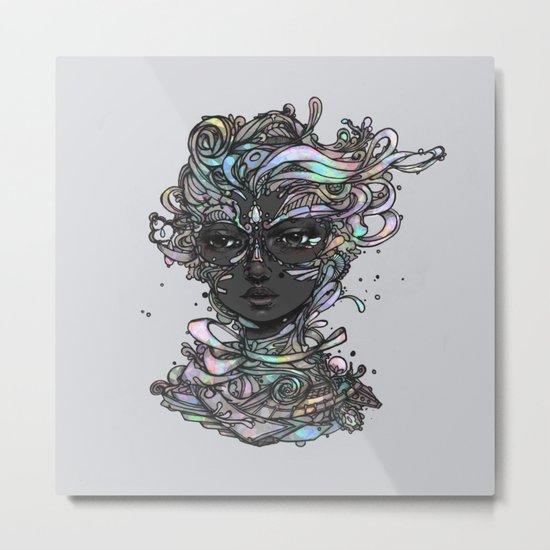 Interplay of Color Metal Print