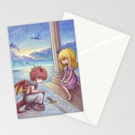 Dragon knight (Nalu) Stationery Cards