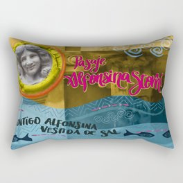 Alfonsina Rectangular Pillow