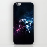 astronaut iPhone & iPod Skins featuring Astronaut by Kevin Roodhorst
