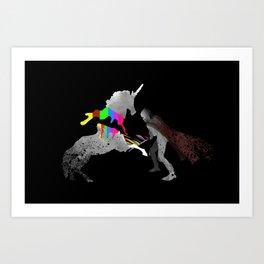 Unicorn Slayer Art Print
