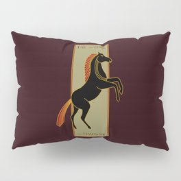 Tall and Dark and Handsome Pillow Sham