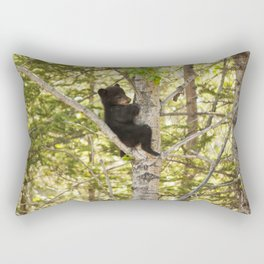 Bear Cub Photography Print Rectangular Pillow