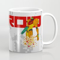 castlevania Mugs featuring Turning to Zero by Greytel