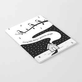 Three Little Birds Notebook