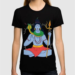 Shiva Gottheit T-shirt