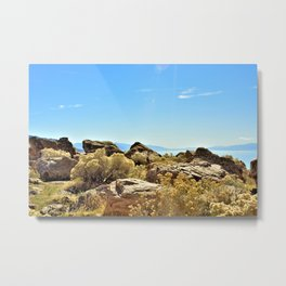 The Great Salt Lake Metal Print