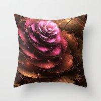 valentine Throw Pillows featuring Valentine by Eli Vokounova