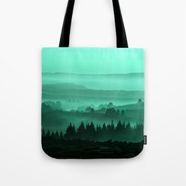 My road, my way. Turquoise. Tote Bag
