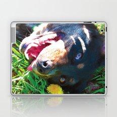 Dog Tanning Laptop & iPad Skin