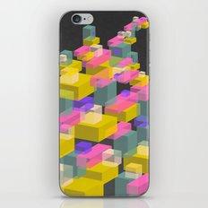 Cubes #2 iPhone & iPod Skin